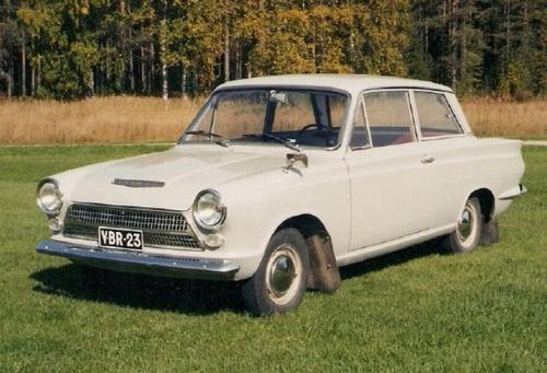 Ford Consul Cortina 1964 MA AK 1